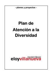 PLAN DE ATENCION A LA DIVERSIDAD