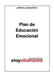 PLAN DE EDUCACION EMOCIONAL