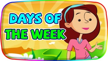 Days of the Week–RAP  5 year olds