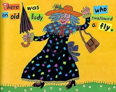 There was an old lady who swallowed a fly-Year 2