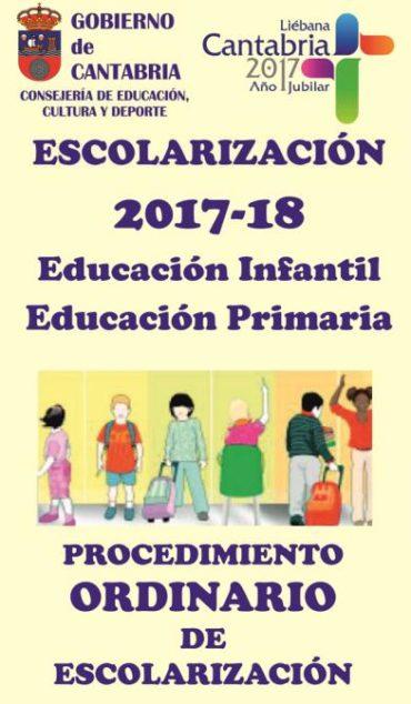 ESCOLARIZACIÓN 2017-2018: Listados definitivos.