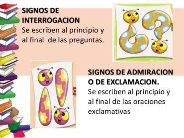 SIGNOS DE INTERROGACIÓN Y EXCLAMACIÓN