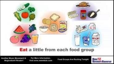 FOOD GROUPS ARE ROCKIN´TONIGHT