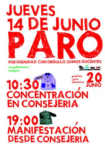 Huelga jueves 14 de junio