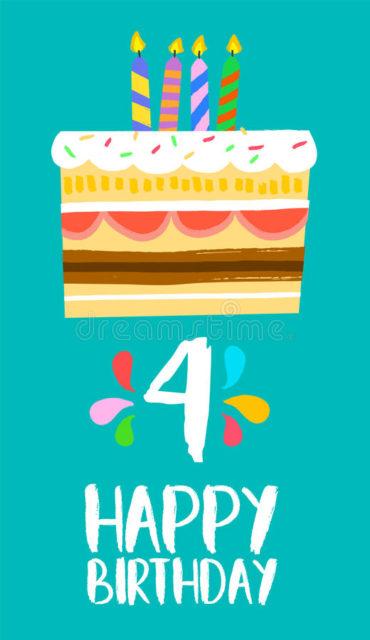 FELICES 4 AÑOS!!!!