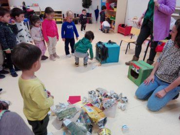 Taller de reciclaje y medio ambiente. Los viveros
