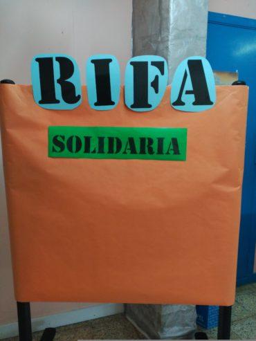 SORTEO DE LA RIFA SOLIDARIA