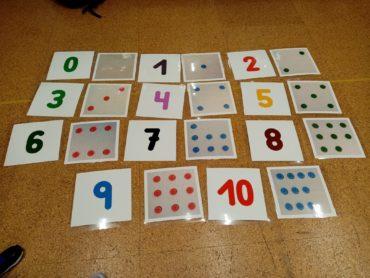 Fichas Unidad Didáctica «Las Profesiones»/Series numéricas-4 años