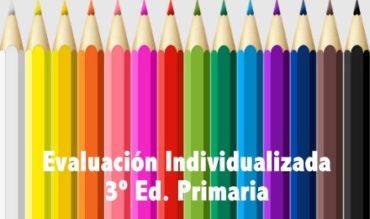 Pruebas de evaluación individualizada de tercer curso de Educación Primaria